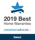2019 Best Home Warranties, consumers advocate