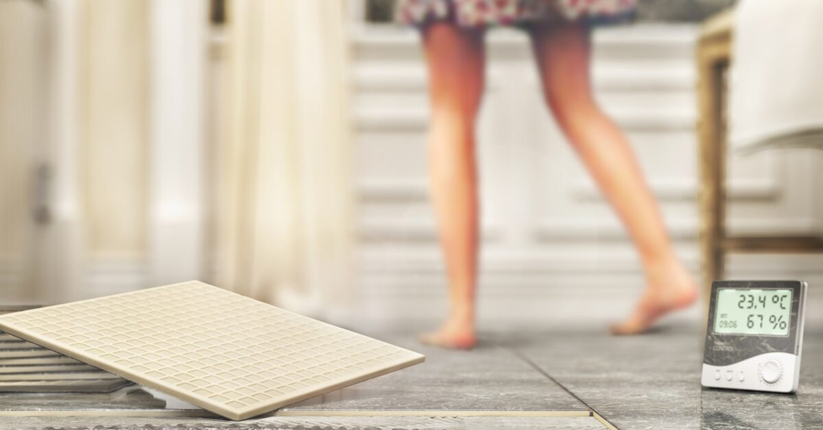 Learn how to troubleshoot your heated floor. | SHW Blog