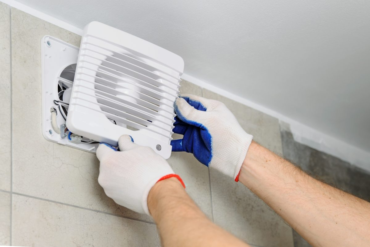 Learn how to clean the kitchen and bathroom exhaust fans. | SHW Blog