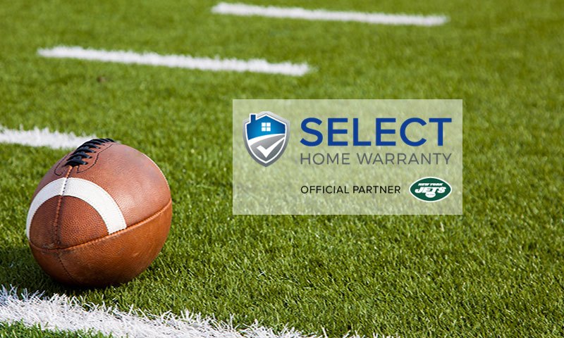 Select Home Warranty Sponsors the NY Jets
